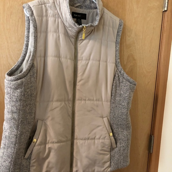 Style & Co Jackets & Blazers - Quilted vest